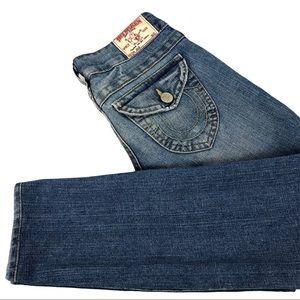 """True Religion """"Julie"""" Skinny Jeans Size 25 Women's"""